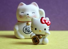 Hello Kitty Lucky Cat-Kind of one of the best things ever:)