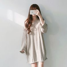 28f1ee18066d7 Boxy Knit Sweater