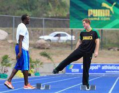 Prince Harry & Usain Bolt