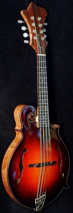 [ƒrettedchordophone 2014] Andy Manson 3 point Mandolin  ---https://www.pinterest.com/lardyfatboy/