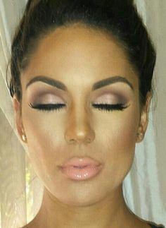 Bridesmaid makeup contender #2 @hmac106
