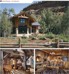 The newer ranch house at the Centennial Ranch.