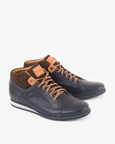 trzewiki 006 -127-GRAN-BR High Tops, High Top Sneakers, Shoes, Fashion, Moda, Shoes Outlet, Fashion Styles, Shoe, Footwear