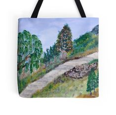 PATHWAY #art #artist #painting #decoration #wall #acrylics #colors #classic #paint #romance #relax #book #salon #livingroom #wallart #bedroom #shop #shopping #gift #present #idea #room #plant #green #trees #sky #nature #landscape #forest #sea #river #woods #animal #love #beautiful #redbubble Small Garden Landscape, Landscape Edging, Fantasy Landscape, Urban Landscape, Landscape Art, New Nature Wallpaper, Nature Artwork, Nature Drawing, Nature Paintings