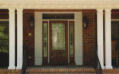 Square Porch Columns | Square FlutedFiberglass Composite Column Sizes