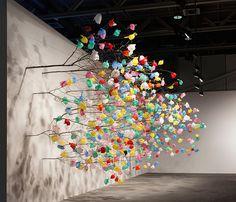 Plastic Tree Installation at Art Basel 2015 – Fubiz Media