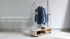 More closet space is always a good thing. In this episode Ben Uyeda shows how to build a home for your clothes out of EMT conduit, pine boards and a 2x8. Thi...