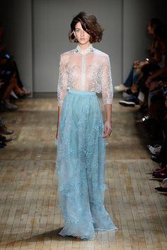 Jenny Packham New York Fashion Week Spring 2015 Runway