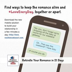 Last minute change of plans? Boost your romance with some #LoveEveryDay.