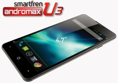 Spesifikasi Smartfren Andromax U3 Pabrikan: Innos Layar: 4.7 inch IPS (540x960p) Dukungan SIM: Micro RUIM dan Micro SIM Sistem Operasi: Android 4.1 Jelly Bean Chipset: Qualcom Snapdragon MSM8625Q Processor: 1,2 GHz Quad Core GPU: Andreno 203 RAM: 1GB ROM: 4GB Storage: Slot microSD hingga 32 GB Kamera Utama: 8 MP Flash Kamera Sekunder: 2MP Baterai: 1800 mAH
