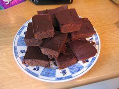 Brownies nach amerikanischer Art (Rezept mit Bild)   Chefkoch.de