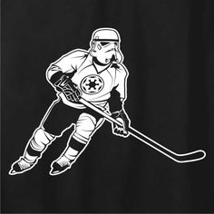 May the fourth line be with you.....Stormtrooper on skates!