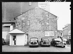 Photogrammar Lancaster, Pennsylvania. Parking lot November 1942