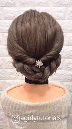 12 Tutorials Braid Hair You Can Do Yourself Part 2 – beautiful hair styles for wedding Step By Step Hairstyles, Easy Hairstyles For Long Hair, Braids For Long Hair, Diy Hairstyles, Pretty Hairstyles, Braid Hair, Hairstyle Tutorials, Hairstyles Videos, Long Hair Dos