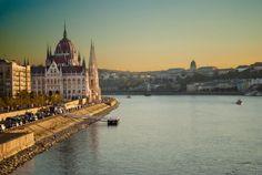 É possível conhecer diversos lugares da Europa debrInterRail, como Budapeste
