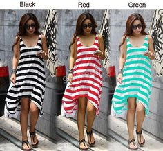 Cheap dress up summer fashion, Buy Quality dress student directly from China dress heels Suppliers: BK Three Colors Summer Dresses 2015 Cotton Holiday Dresses Women Casual Stripe Irregular Beach DressWelcome