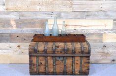 Vintage Wood Box BUCKEYE COMPANY Wood Storage by NorthboundSalvage, $45.00