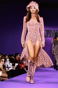 Anna Sui Spring 1993 Ready-to-Wear Fashion Show