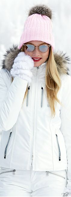 Sweet ski dress for sweet lovers. Create limitless romance with BUTTERFLY HABITS: How to Make Your Honeymoon Last Forever ... at http://Amazon.com ------- Bogner ● FW 2014, Elsa Hosk http://moncler-online-shop.blogspot.com/ $161.99 cheap moncler coat