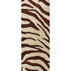 @Overstock - Get in touch with your wild side and decorate your home with this beautiful premium wool hand-tufted Zebra rug. This modern Zebra rug is a great accent piece for any room as it portrays elegance and a thirst for adventure in shades of brown and beige.http://www.overstock.com/Home-Garden/Handmade-Alexa-Modern-Zebra-Brown-Beige-Wool-Rug-26-x-8-Runner/5673109/product.html?CID=214117 $112.99