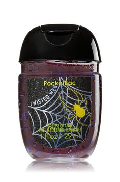 Twisted Web - PocketBac Sanitizing Hand Gel - Bath & Body Works - Now with… Bath N Body Works, Bath And Body, Perfume, Whipped Body Butter, Smell Good, Hand Sanitizer, Beauty Care, Lip Balm, Body Care
