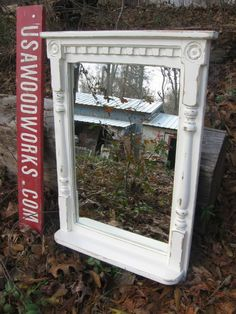 bath  vanity  mirror    french country   cottage by usawoodworks, $175.00