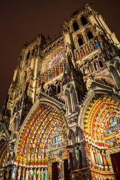 Amiens ~ Nord-Pas-de-Calais-Picardie ~ France ~ Cathédrale Notre-Dame d'Amiens