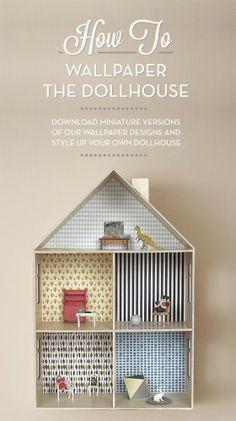 Casinha de Bonecas - Doll House - À mão com carinho