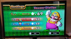 Playing Mario Party 10 with the kids and this happened