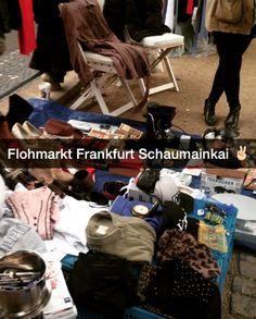 Der beste Flohmarkt der Stadt ist jeden Samstag am Schaumainkai. | 24 Geheimnisse, die Dir Menschen aus Frankfurt am Main nicht verraten