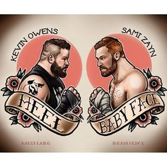 Kevin Owens & Sami Zayn, they're destined to be fighting each other #WWE #NXT