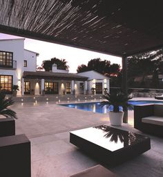 Obviously a pool like this is everyones dream. I like the cabana idea not so much the pool though.