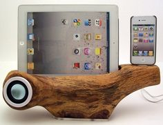 iPhone Speaker Docking Station & iPad Stand