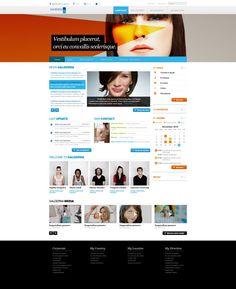 Microsoft Sharepoint Designs by Deniz Erdal, via Behance