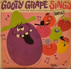 Goofy Grape sings
