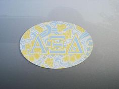 Alpha Xi Delta decal would look so cute on my car :)