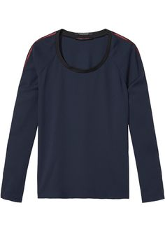 Maison Scotch Bluse blå 102178 Sportive Top - night – Acorns