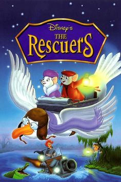 The Rescuers Movie | The Rescuers (1977)
