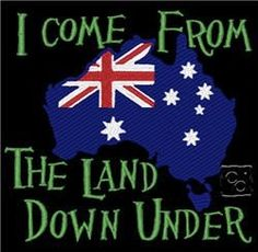 I Come From The Land Down Under