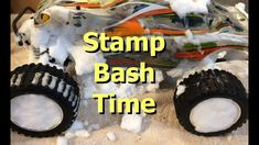 Snowy Winter Bash with my Traxxas Stampede 4x4 VXL Monster Truck RC