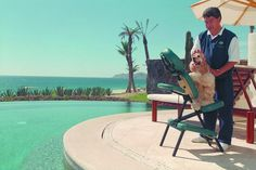 Do you REALLY love your pooch? Las Ventanas al Paraiso Resort in Los Cabos, Mexico offers beachside massages for pets!