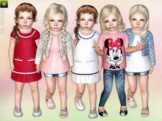 lillka's Fancy Little Girl - Set