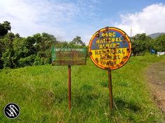 Entrance to Virunga