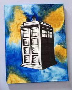Doctor Who Tardis by Ra'Chel Alexander  www.facebook.com/artworkbyrachel