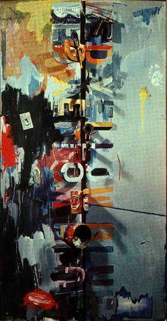 Jasper Johns, Field Painting, 1964