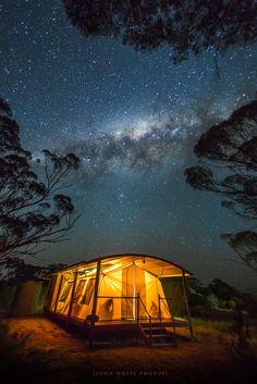 Tent cabin.