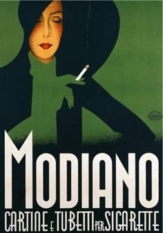 Modiano Art Deco Poster