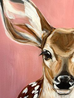 Details about Cutest Giraffe Painting Ever! 11 X 14 Art Class Demo, Acrylic Details about Cutest Gir Cute Canvas Paintings, Small Canvas Art, Simple Acrylic Paintings, Acrylic Art, Animal Paintings, Acrylic Painting Canvas, Kids Canvas Art, Painting Inspiration, Art Inspo