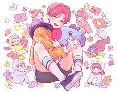 Read 👑GoldenHobiDay👑 from the story Fanart BTS by with 193 reads. Bts Got7, Bts Bangtan Boy, Jhope, Namjoon, Jimin, Bts Chibi, Jikook, Bts Anime, Anime Guys