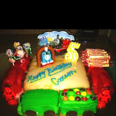 Thomas and Friends Birthday cake!